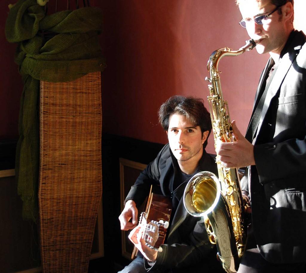 En duo Jazz au Pavillon Montsouris, Paris 14