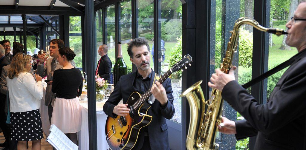 Duo Jazz Guitare et Saxophone