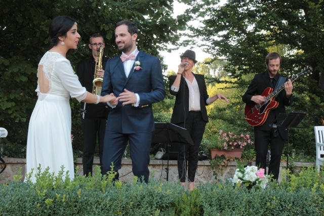 Un trio vocal pour animer le mariage