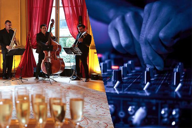 Groupe de Jazz et DJ
